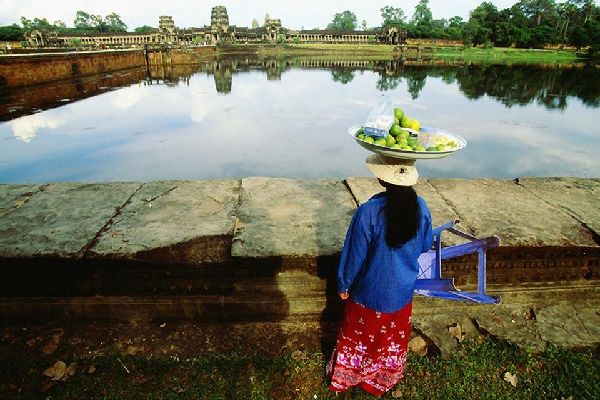 The city of Siem Reap is relatively rural, but it is is also known for being the gateway to the archaeological site of Angkor.