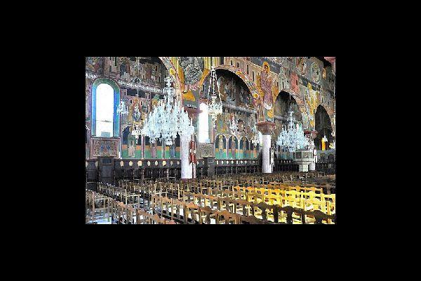 Numerosas iglesias salpican toda la ciudad de Rodas.