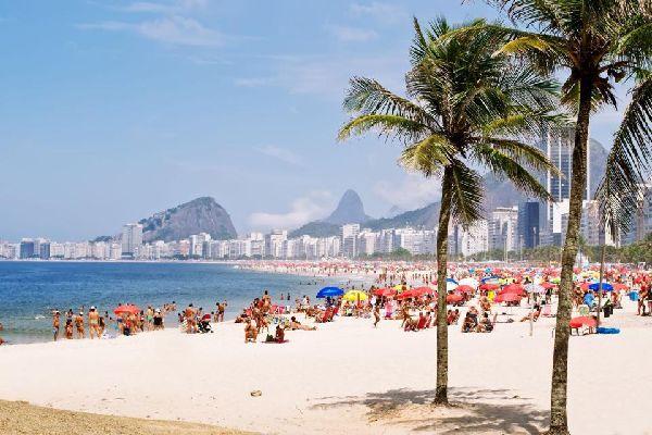 Sur la plage de la plus célèbre au monde, on se prend pour Ronaldo !