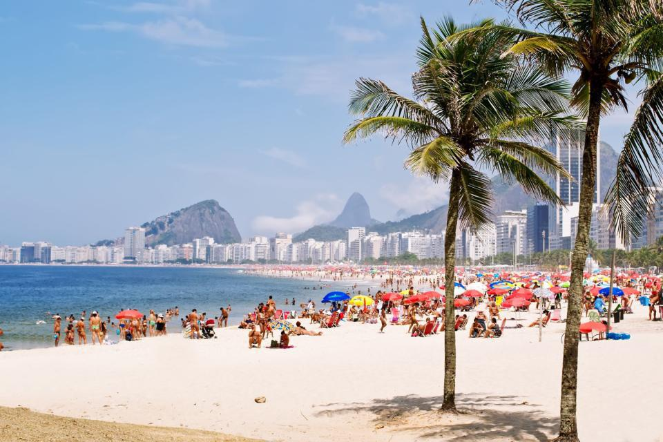 Sulla spiaggia più famosa di tutto il mondo, ci si sente un po' come Ronaldo!