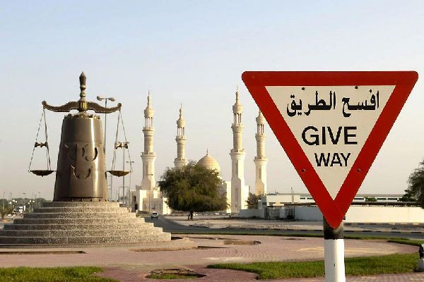 The Zayed Mosque is the largest and most radiant in the emirate.