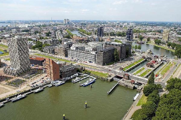 Rotterdam port is the largest in Europe and the third largest in the world. The only two bigger than this are those in the Chinese cities of Shanghai and Singapore.