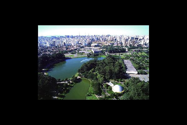 The biggest park of the city; its importance to São Paulo is comparable to that of Central Park to New York City