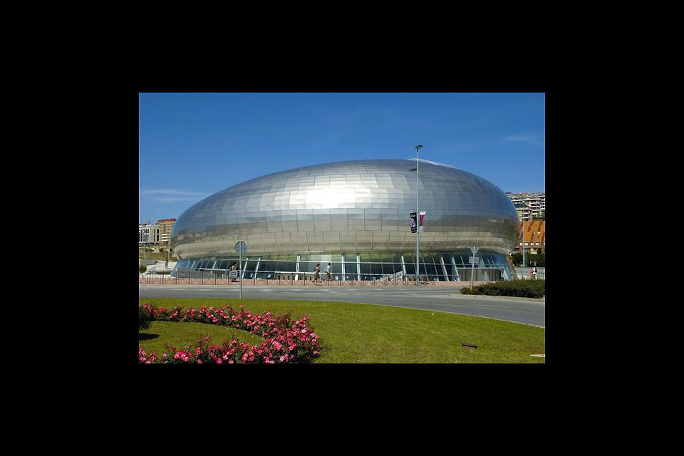 The Sports Palace in Santander.