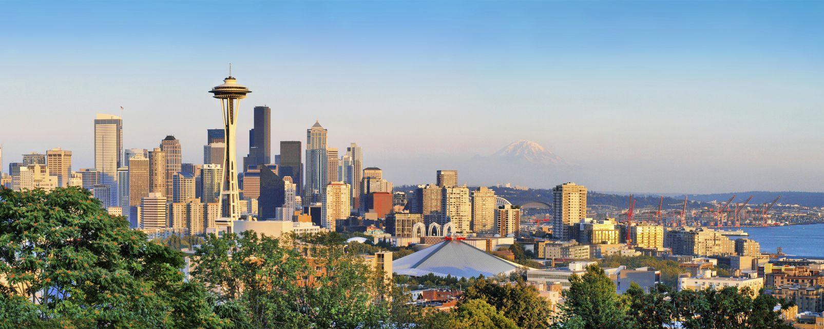 Seattle, Western USA, United States of America