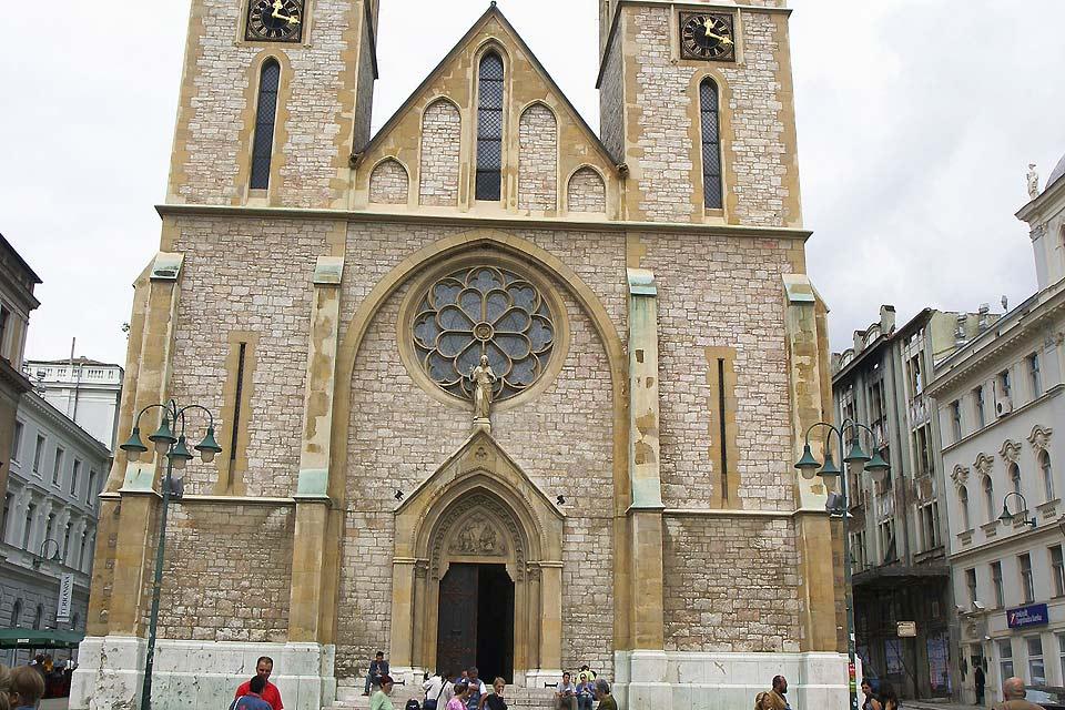 La population de croates de Bosnie-Herzégovine est, pour la plupart, catholique.