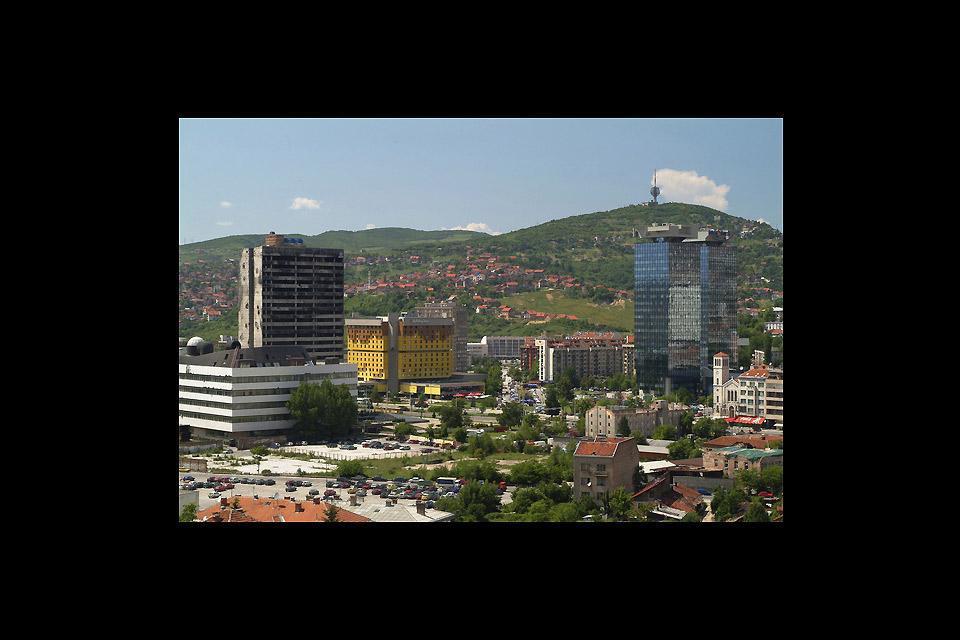 Cette cathédrale est l'un des nombreux édifices religieux de la ville de Sarajevo et remonte à l'époque ottomane.