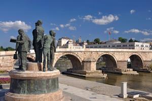 Europe; Macédoine; Skopje;