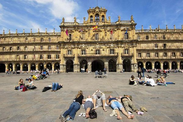 It is known for being one of the most beautiful squares in all of Spain.
