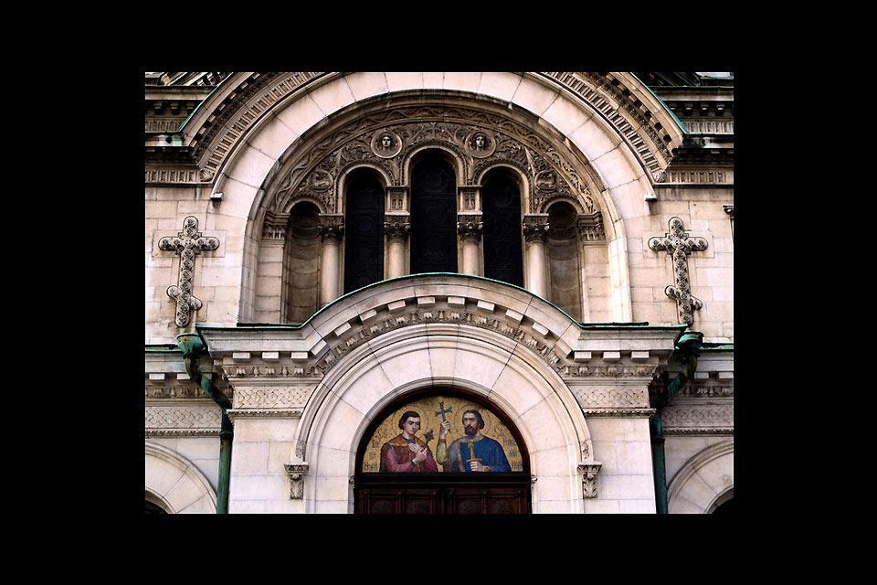 La capitale bulgare de Sofia a beaucoup de belles églises