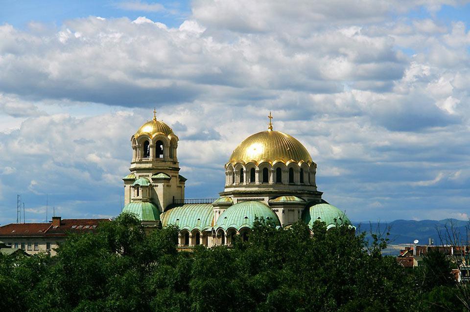 La cathédrale Alexandre Nevski est le monument le plus célèbre de Sofia.