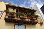 La localité de Santa Cruz de La Palma, capitale de l'île, se situe dans l'ancien Canton de Tedote, à l'est de l'île.