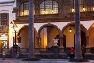 Dominée par l'incontournable Plaza de España, la vieille ville se caractérise par des édifices mélangeant différents styles construits au cours des 500 ans d'existence de la ville.