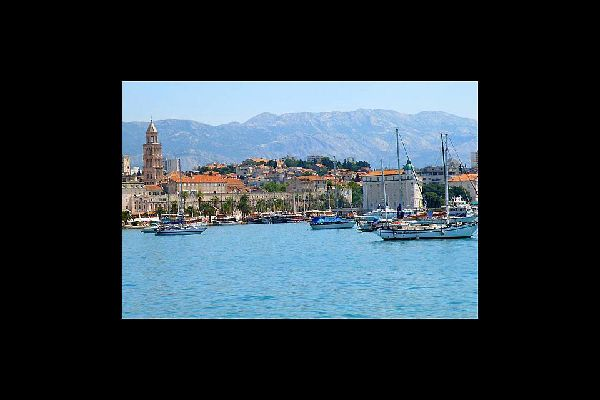 Summer holidays in the capital of the Dalmatia region in the south of Croatia are extremely popular