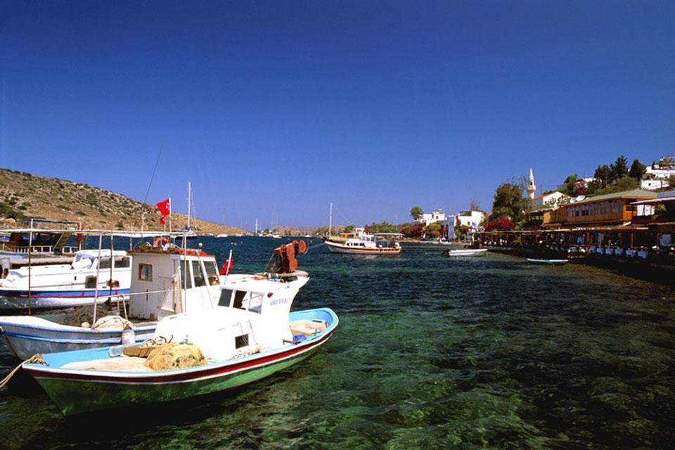 Las costas turcas ofrecen unos hermosos paisajes tanto en la tierra como en el mar.