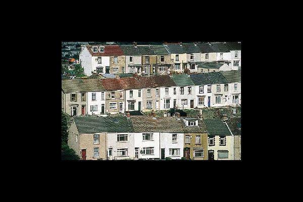 Ces maisons typiques de la classe ouvrière étaient probablement habitées autrefois par des ouvriers travaillant les minerais de cuivre.