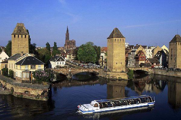 Le centre ville de Strasbourg est classé patrimoine mondial de l'humanité par l'Unesco depuis 1988.