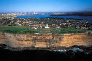 Sydney brings together two regions: the Cumberland Plain and the Hornsby Plateau.