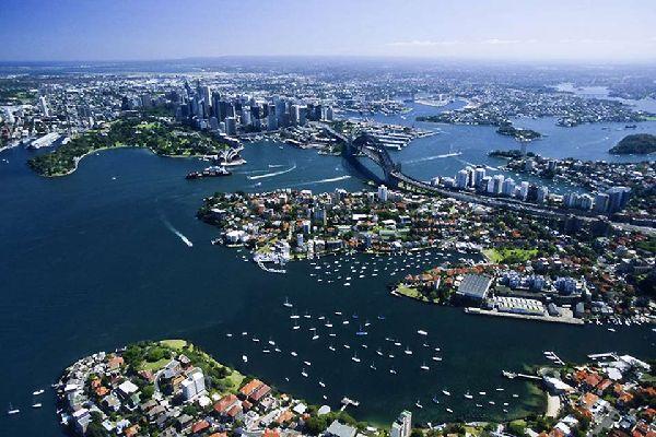 Sydney ist die bevölkerungsreichste Stadt in Australien.