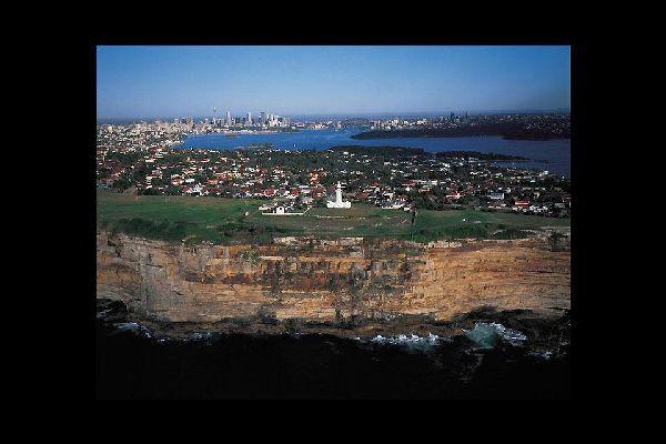 Das Stadtgebiet von Sydney erstreckt sich über zwei Regionen: die Cumberland Plain und das Hornsby Plateau.