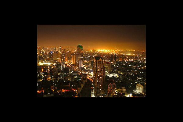 Bangkok no solo es una ciudad, también es una provincia.