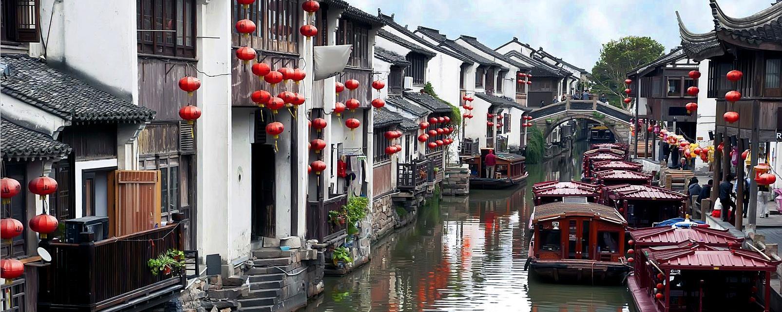 Asie; Chine; La province de Shanghaï; Suzhou;