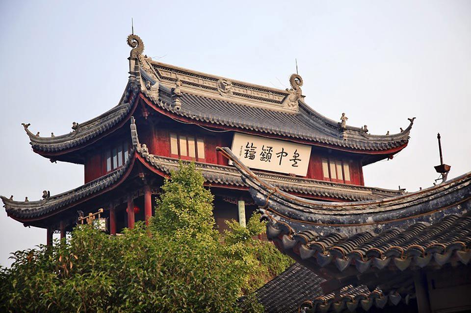 Das Pan Men-Tor wurde vor 2.500 Jahren unter der Herrschaft der Wu-Dynastie gebaut.
