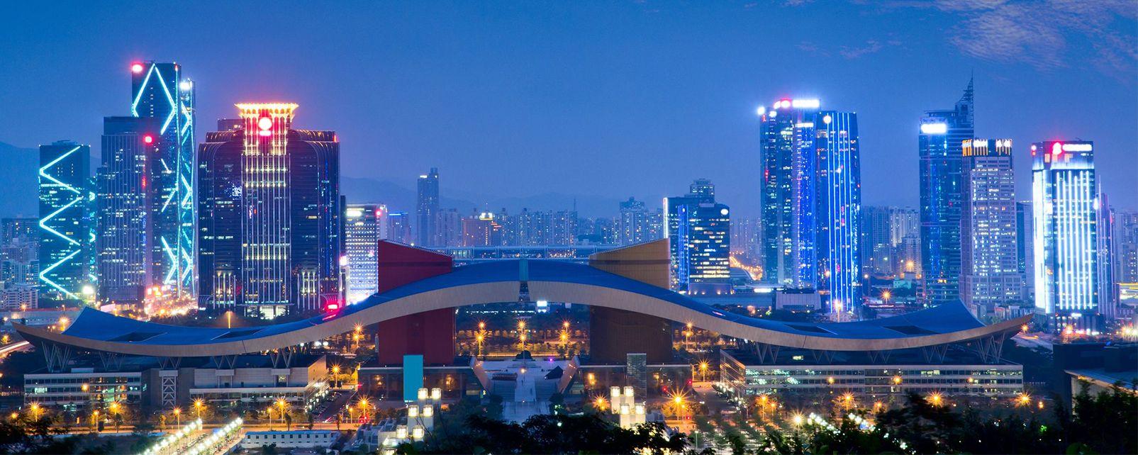 Shenzhen, Les provinces de l'Est, Chine