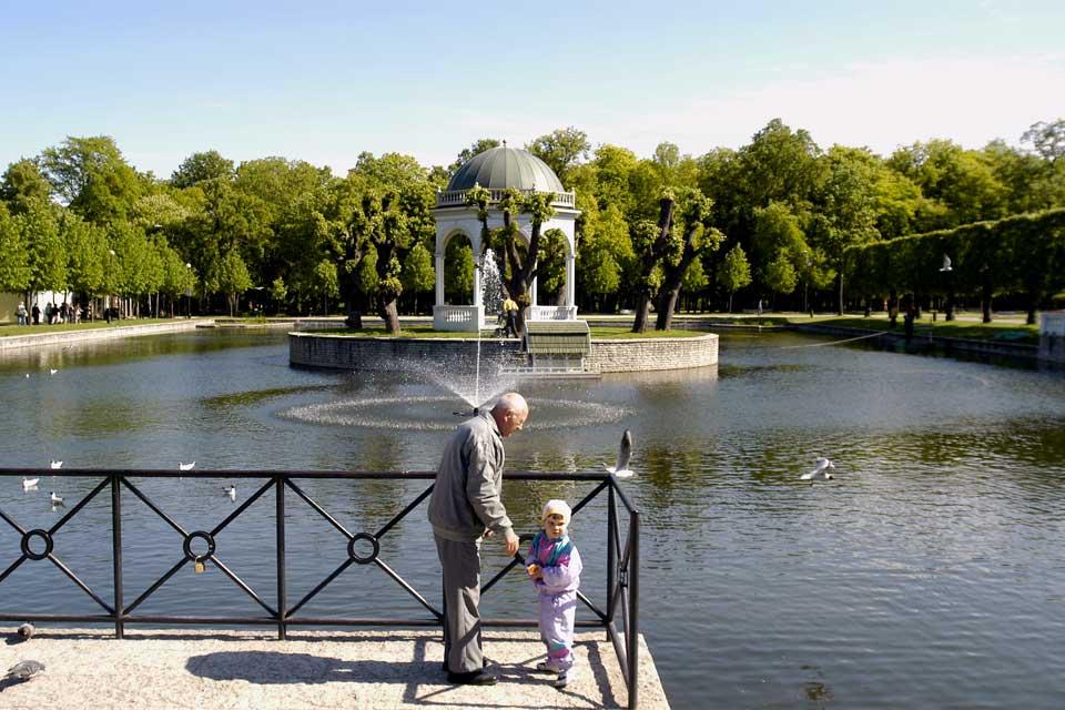A quelques pas seulement de la vieille ville, on dénombre plus de 50 parcs.