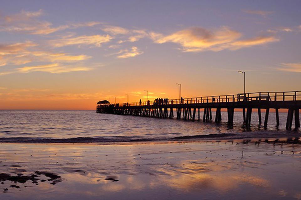Adelaide è la quinta città oiù popolata in Australia.