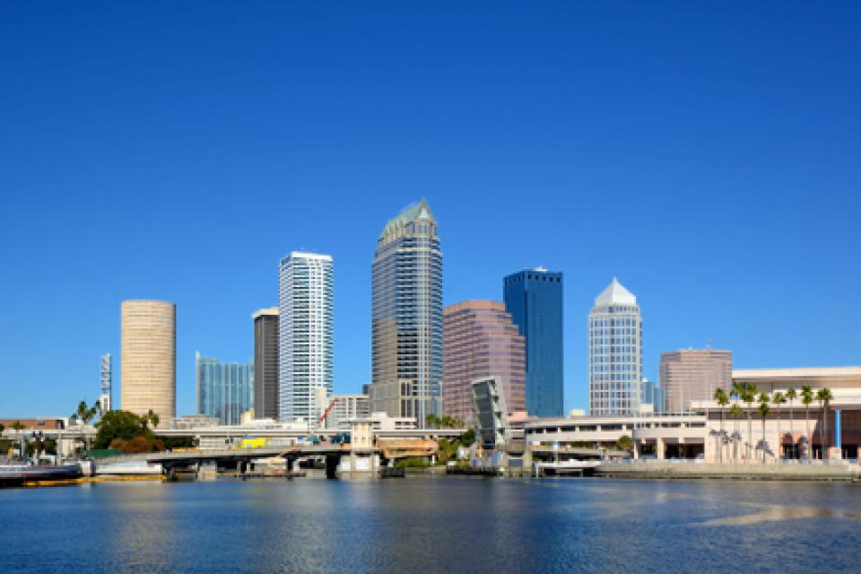 Le port de Tampa abrite des paquebots à l'échelle américaine.