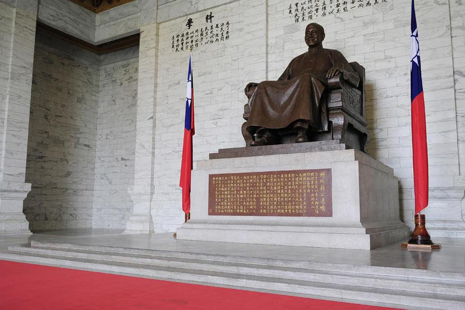 Lieu de pèlerinage pour beaucoup de Taiwanais venus rendre hommage à celui qui a gouverné l'île nationaliste pendant près de 30 ans.
