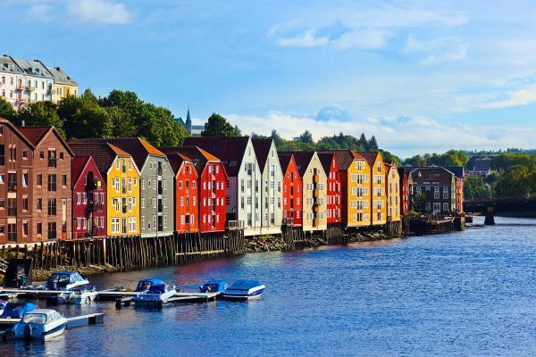 Wettervorhersage Trondheim Norwegen Beste Reisezeit