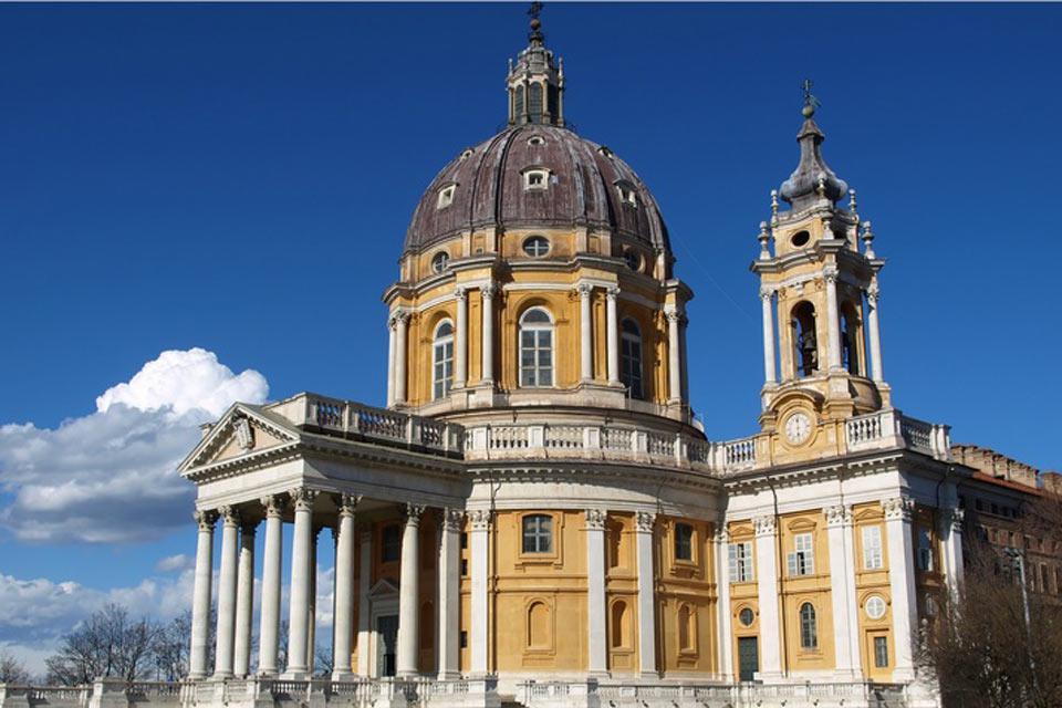 La Basilica di Superga è stata inaugurata nel 1731.