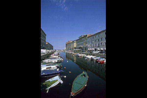 The heart of the capital of Friuli?Venezia Giulia, where the historic buildings overlook the canal