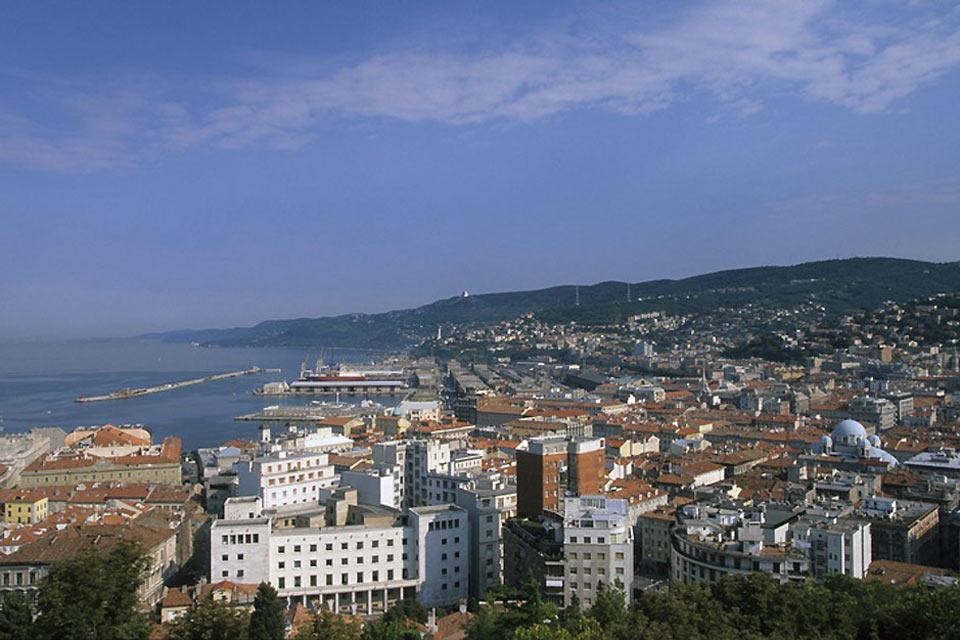 A maritime city, Trieste had one of the biggest ports during the period of the Habsburg empire.