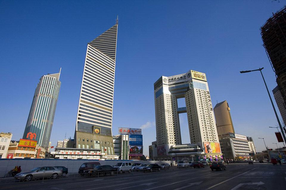 Tianjin is home to many large international companies.