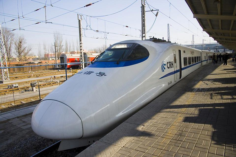Tianjin is 100 miles from Beijing. It is very easy to get to by train.