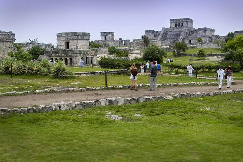 Le rovine di Tulum sono le meglio conservate di tutta la regione dello Yucatan.