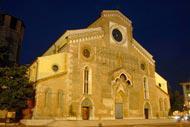 Aunque su nombre exacto sería el de «Cattedrale di Santa Maria Annunziata», la iglesia se denomina comúnmente por los udineses como el «Duomo».