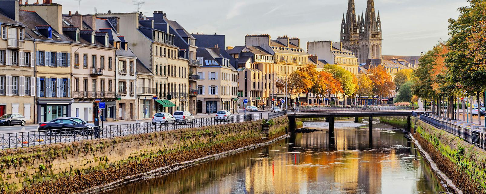 Europe; France; Bretagne; Quimper;