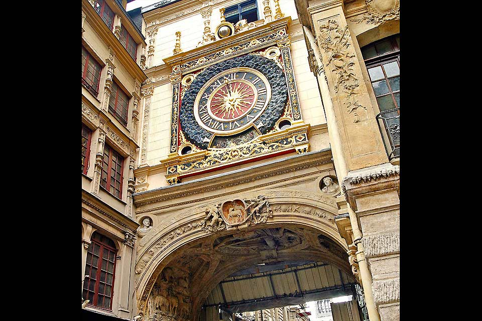 The Great Clock's movement was created in 1389, which makes it one of the oldest mechanisms in France.
