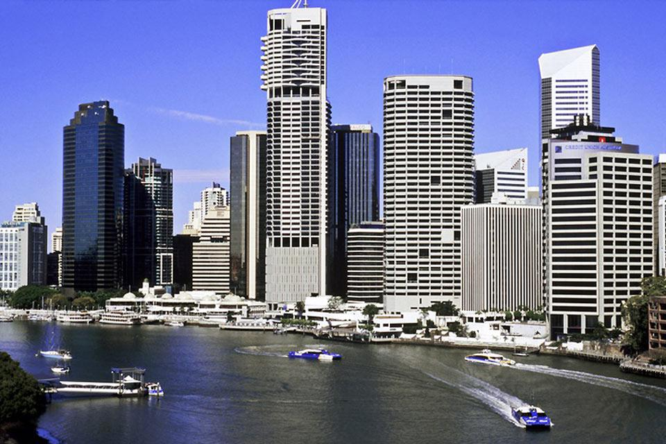 Brisbane is the most heavily-populated city in Queensland.
