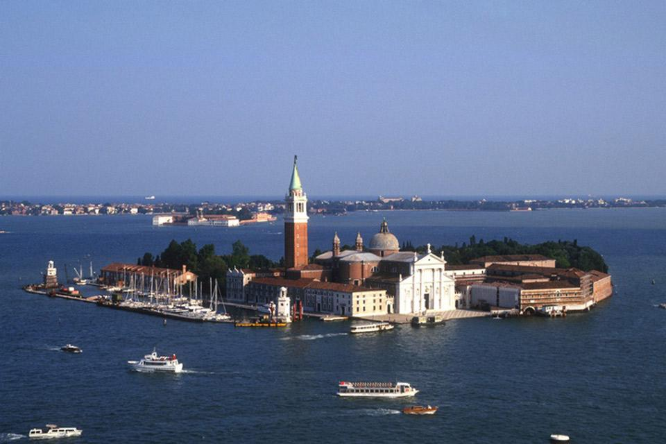 San Giorgio Maggiore island is situated opposite St. Mark's Square and is home to the basilica of the same name