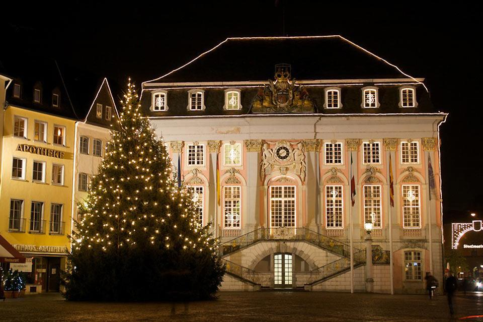 Bonn's city hall is located at the heart of the city.