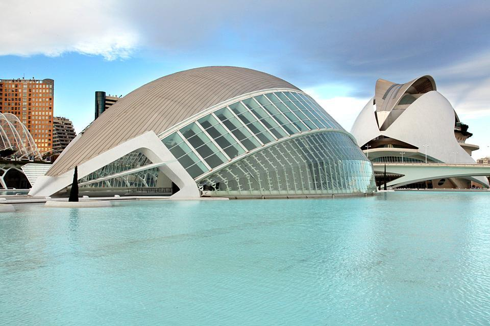 A city with plenty of botanical gardens, Valencia also has an Arts and Sciences Museum with very original architecture that shouldn't be missed.