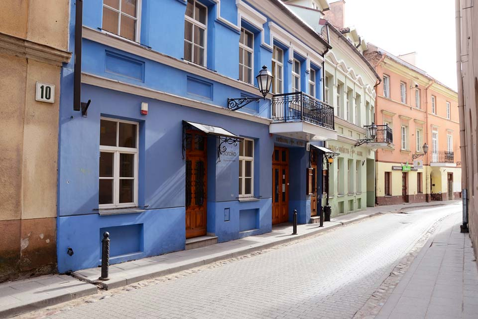 Vilnius' baroque-style historical centre holds extremely valuable historical and artistic heritage.