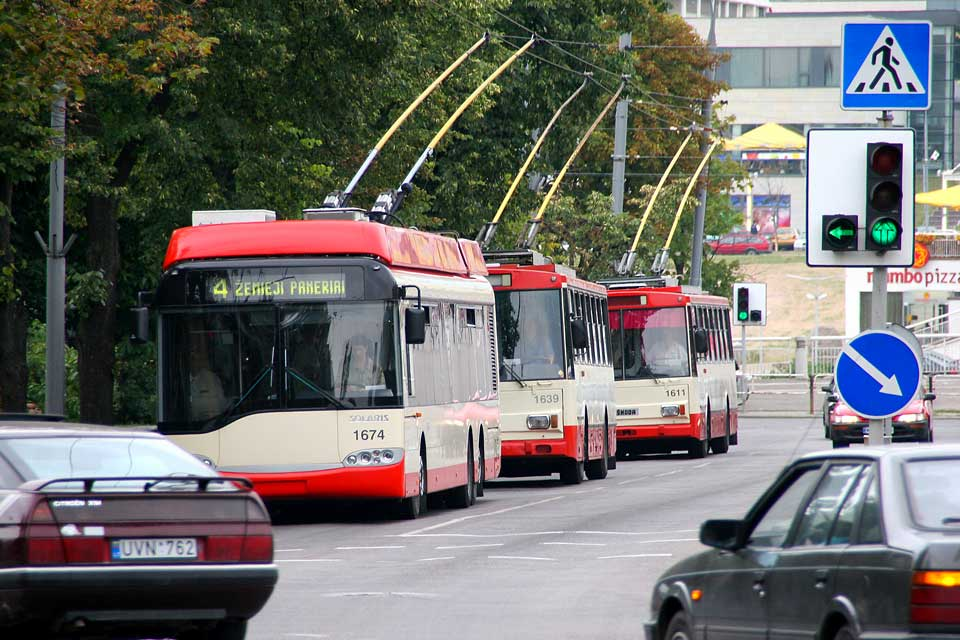 Although the buses and trolley are often crowded, it is very easy to get around in Vilnius.