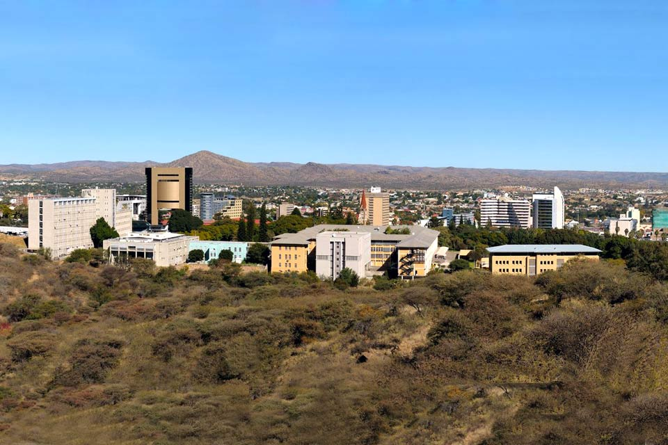 The capital city, Windhoek, is located on the High Plateaus, at an altitude of 1,646 m, in about the geographical centre of the country. It stretches over valleys, between the Auas mountain ranges to the South-East and the Eros to the North-East. The city centre is quite small and you can go round it quite quickly. Start the tour of the city at Holfmeyer Walk, to get a good overview of the city. Then ...