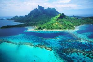 Océan Pacifique; Polynésie; Tahiti; Bora Bora;